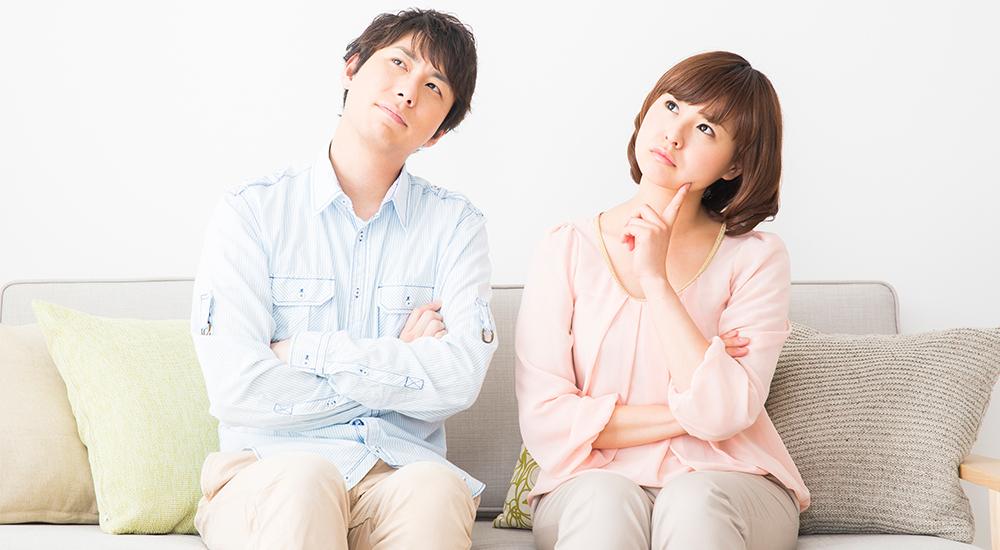 不動産売却に疑問を抱く夫婦