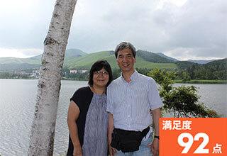 満足度92点のお客様の写真